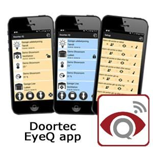 Doortec EyeQ App - styr garageporten fra mobilen